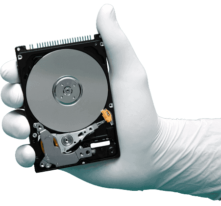 How to recover encrypted data from hard drive